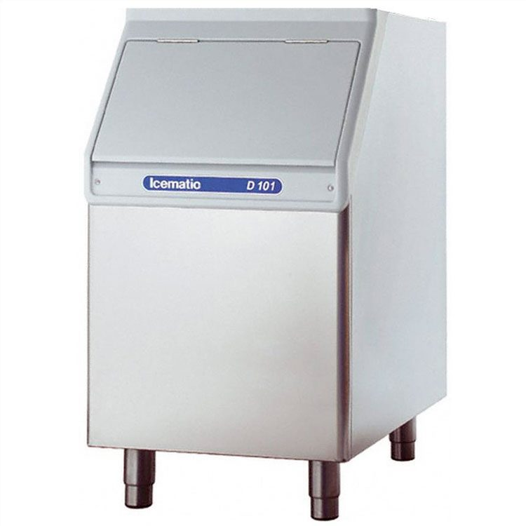 Icematic ice storage bin