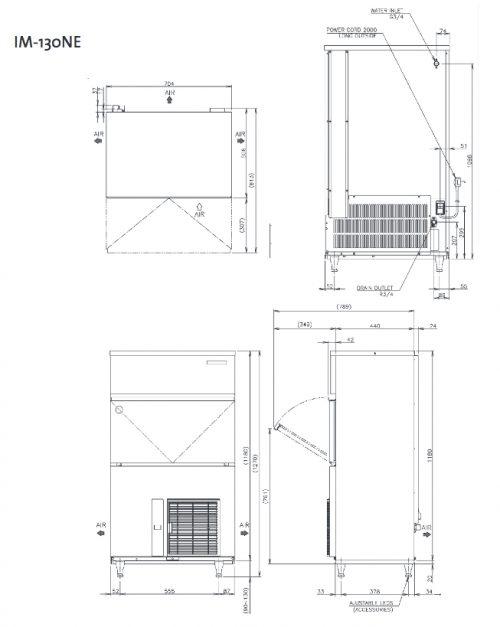 Hoshizaki IM130NE Ice Machine