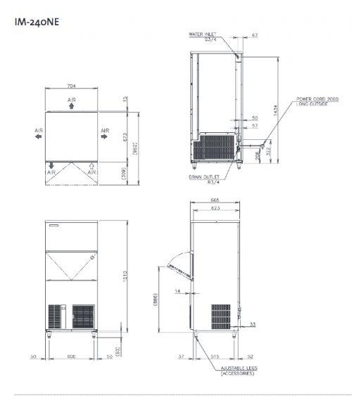 Hoshizaki IM240NE Ice Machine