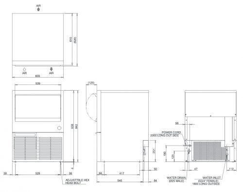 Hoshizaki KM50A Ice Machine