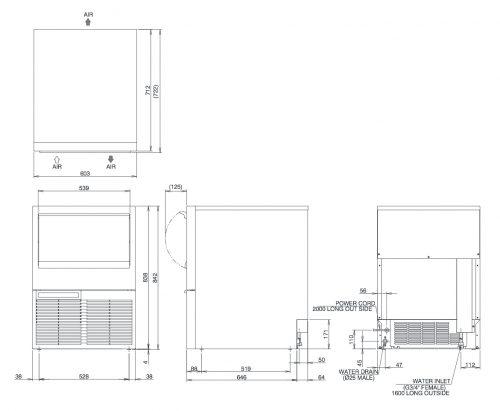 Hoshizaki KM75A Ice Machine