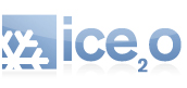 Ice2o Ice Machines Logo